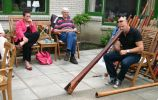 Didgeridoo workshop ZorgCentrum Den Haag