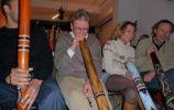 Bedrijfsworkshop ICCO didgeridoo spelen & maken