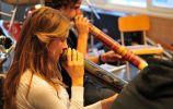 Workshops didgeridoo aan het Lyceum te Zeist