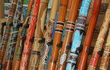 Didgeridooworkshop tijdens familie-uitje