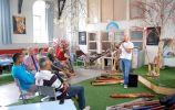 Bedrijfsuitje Didgeridoo in LOFT te Boksum