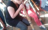 Didgeridoo Workshop Fanfarekorps Wamel juni 2013